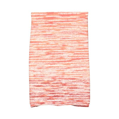 Rocio Ocean View Solid Print Hand Towel Color: Coral