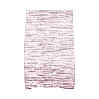 Solid Print Hand Towel Color: Purple