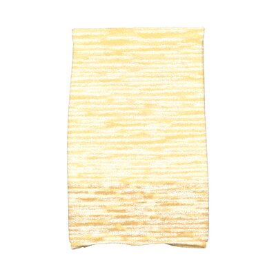 Solid Print Hand Towel Color: Yellow