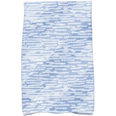 Rocio Marled Knit Bath Towel Color: Blue