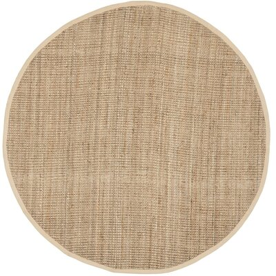 Calidia Hand-Loomed Beige Area Rug Rug Size: Rectangle 5 x 8