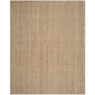 Calidia Hand-Loomed Beige Area Rug Rug Size: 5' x 8'