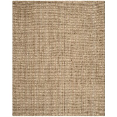 Colleton Hand-Loomed Beige Area Rug Rug Size: 6 x 9