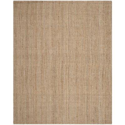 Calidia Hand-Loomed Beige Area Rug Rug Size: 9' x 12'