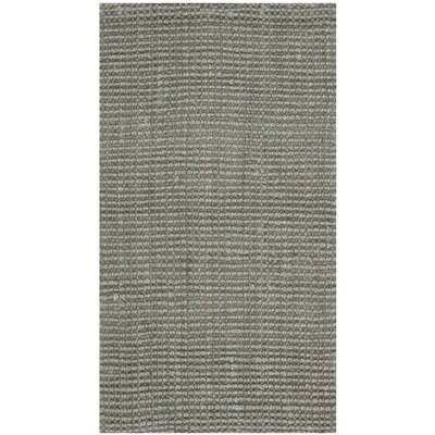 Colleton Hand-Loomed Gray Area Rug Rug Size: 23 x 4