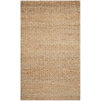 Colleton Hand-Loomed Gold Area Rug Rug Size: 4 x 6