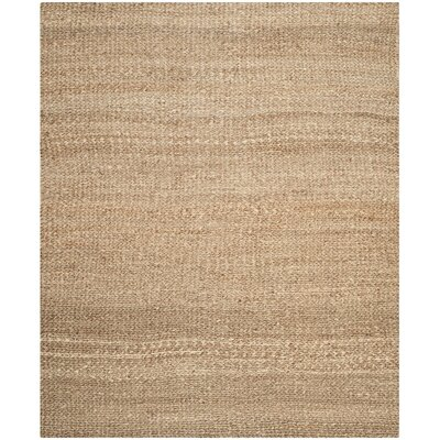 Colleton Hand-Loomed Gold Area Rug Rug Size: 9 x 12