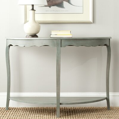 North De Land Console Table Color: French Gray