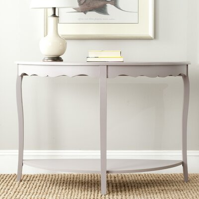 North De Land Console Table Color: Quartz Gray