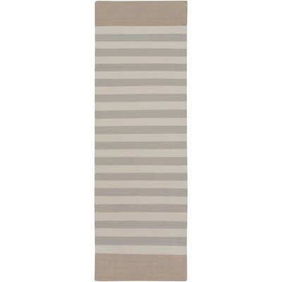 Kinslee Light Gray Area Rug Rug Size: Runner 26 x 8