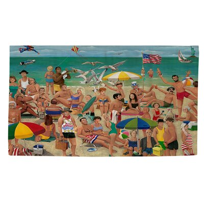 Whisper Walk Green Area Rug Rug size: 4 x 6