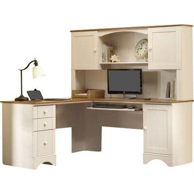Pinellas 36.13 H x 66.13 W Desk Hutch Finish: Antique White