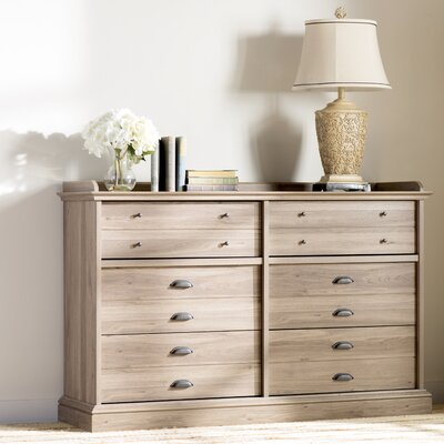 Bowerbank Chester 6 Drawer Double Dresser