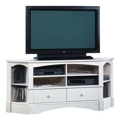 Pinellas TV Stand Finish: Antiqued White