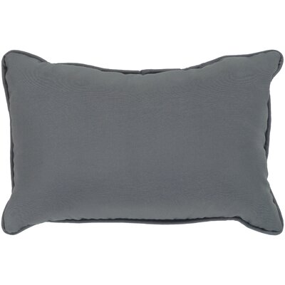 Murrayville Outdoor Lumbar Pillow Color: Charcoal