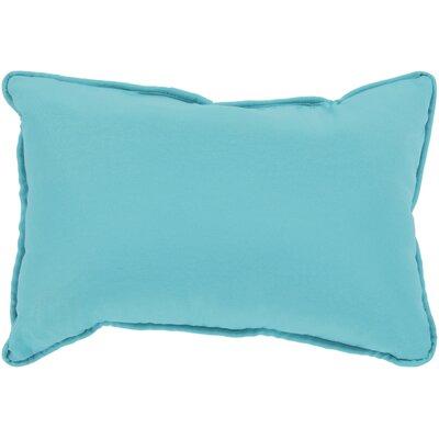 Wiscasset Indoor/Outdoor Lumbar Pillow Color: Aqua