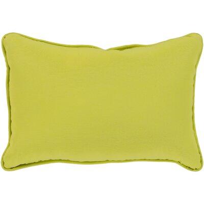 Wiscasset Indoor/Outdoor Lumbar Pillow Color: Lime