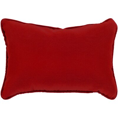 Murrayville Outdoor Lumbar Pillow Color: Garnet