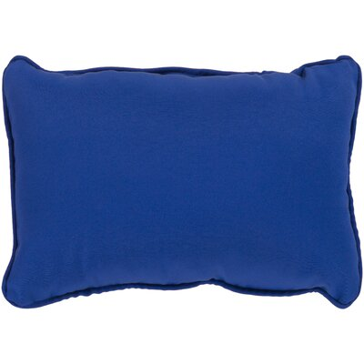 Murrayville Outdoor Lumbar Pillow Color: Cobalt