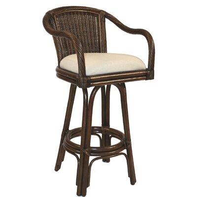 Edgerly 24 Swivel Bar Stool Upholstery: Yachting Stripe