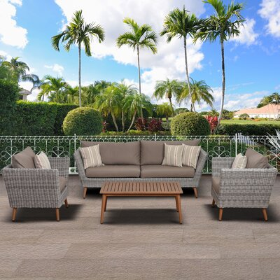 Patio Sofa Set Cushions 1077 Product Pic