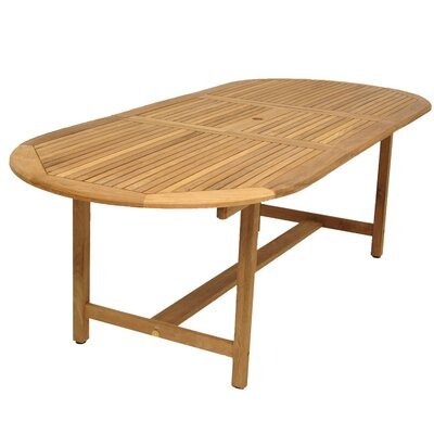 Bridgepointe Teak Dining Table