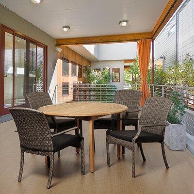 Bridgepointe Teak Dining Set 1104 Product Photo