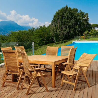 View Wood Dining Set Product Photo