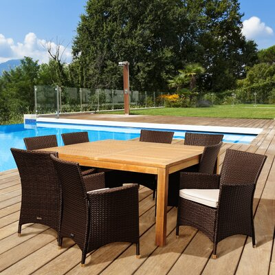 Violet 9 Piece Dining Set