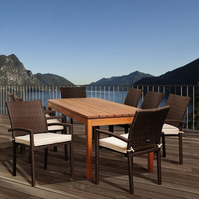 Heron Eucalyptus 9 Piece Dining Set