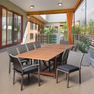 Terrier Eucalyptus 11 Piece Dining Set