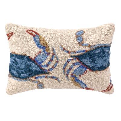 Chapman Crab Double Wool Lumbar Pillow