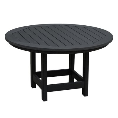 Amiya Round Coffee Table Color: Black
