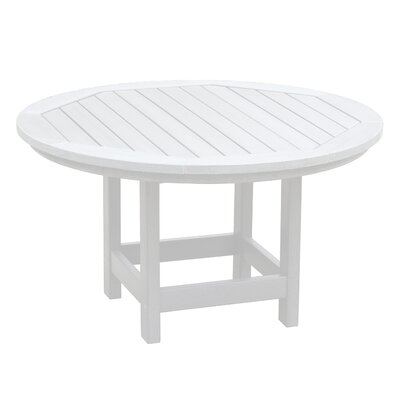 Amiya Round Coffee Table Color: White