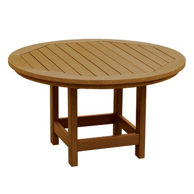 Amiya Round Coffee Table Color: Toffee
