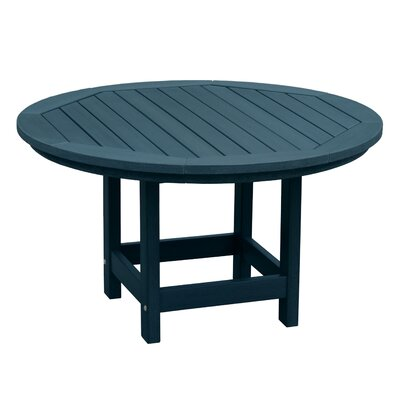 Amiya Round Coffee Table Color: Nantucket Blue