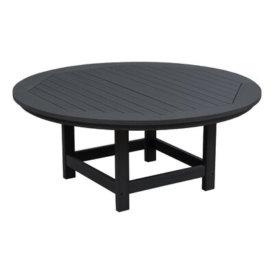 Amiya Traditional Coffee Table Color: Black