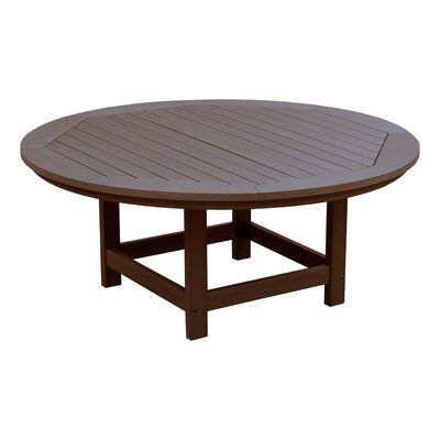 Amiya Traditional Coffee Table Color: Weathered Acrorn