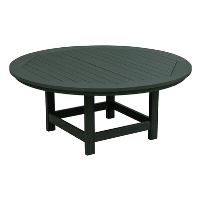 Amiya Traditional Coffee Table Color: Charleston Green