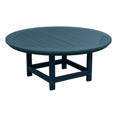 Amiya Traditional Coffee Table Color: Nantucket Blue