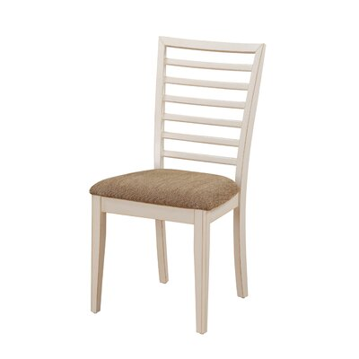 Thatcher Side Chair (Set of 2) Side Chair Finish: White