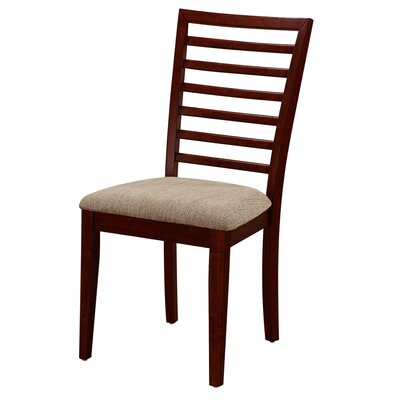 Thatcher Side Chair (Set of 2) Side Chair Finish: Cherry