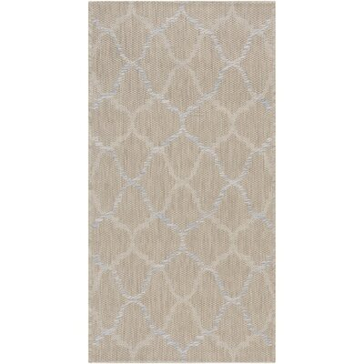Chatsworth Neutral Indoor/Outdoor Area Rug Rug Size: Rectangle 2 x 37