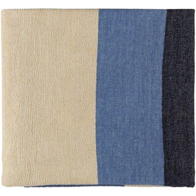 Williamsburg Throw Color: Bright Blue/Violet/Butter/Dark Blue