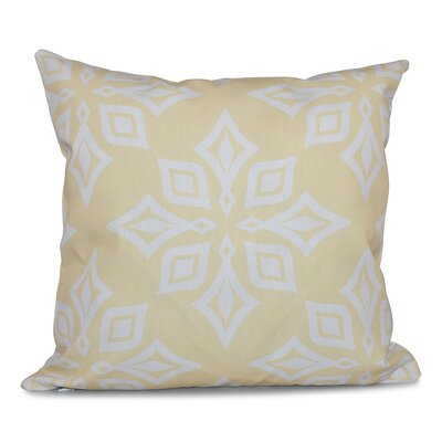 Rocio Beach Star Geometric Print Throw Pillow Size: 16 H x 16 W, Color: Yellow