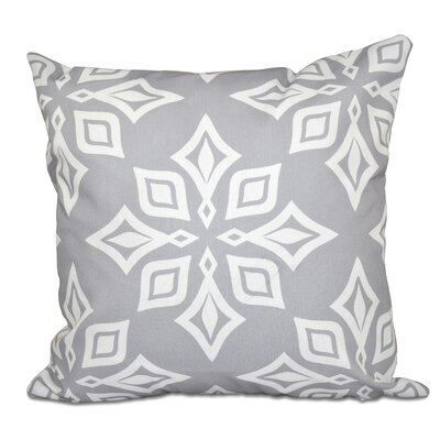 Cedarville Star Geometric Print Throw Pillow Size: 16 H x 16 W, Color: Gray