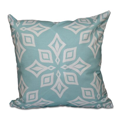Rocio Beach Star Geometric Print Throw Pillow Size: 16 H x 16 W, Color: Teal