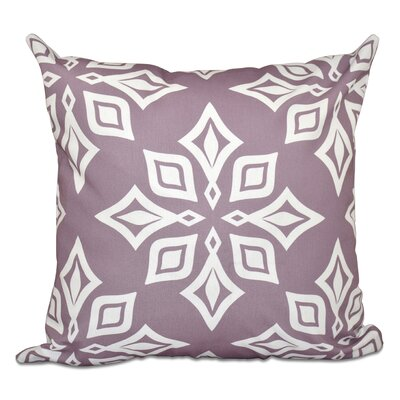 Cedarville Star Geometric Print Outdoor Throw Pillow Size: 20 H x 20 W, Color: Lavender