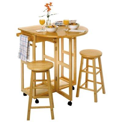 Wynyard 3 Piece Dining Table Set