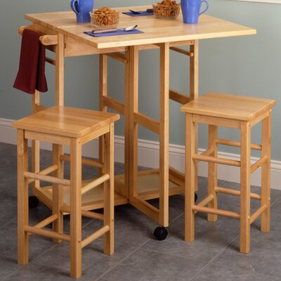 Wynyard 3 Piece Dining Set